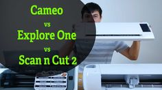 Which is the best cutter? Cameo vs Explore vs Scan N Cut. What do you think? Leave comments below. Cricut review and demo vid:…