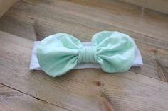 Messy Bow Headband // Bow Headband // Baby by YoureSewTulle