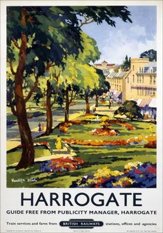 Harrogate, North Yorkshire, England- where I want to live.