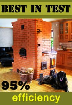 Russian stoves by Ekonomka Sweden Stone Masonry, Brick And Stone, Rocket Mass Heater, Wood Stove Cooking, Stove Oven, Stove Heater, Stove Fireplace, Rocket Stoves, Natural Building