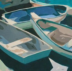 """Abstract Boats"": Mary Anne Cary"