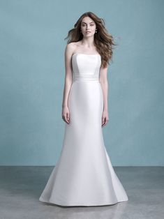 Allure Bridals is one of the premier designers of wedding dresses, bridesmaid dresses, bridal and formal gowns. Browse our collection and visit one of our retailers. Fit And Flare Wedding Dress, Classic Wedding Dress, Train Silhouette, Beautiful Wedding Gowns, Bridal And Formal, Bridal Show, Bridesmaid Dresses, Wedding Dresses, Formal Gowns