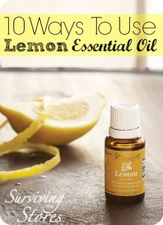 There are so many great uses for LEMON Essential Oil!