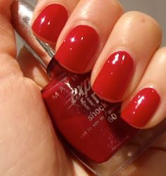 Maybelline Red Seduction
