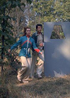 Maya and Tony, Space 1999.