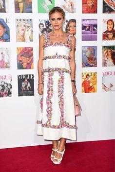 Gala Vogue 100 en Londres