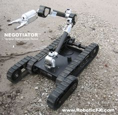 NEGOTIATOR Tactical Manipulator Robot