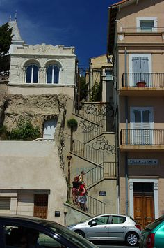 Marseille - Montée de la Napoule