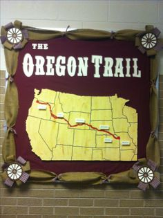 Oregon trail bulletin board