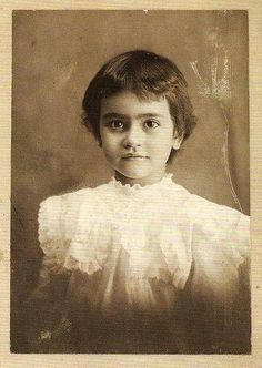 Frida Kahlo à l'âge de Deux Ans.
