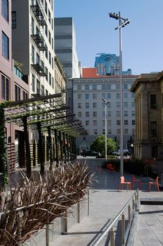 Outdoor Plaza Architecture   CMG landscape Architecture-Mint Plaza