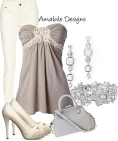 """""""Summer night out"""" by amabiledesigns on Polyvore"""