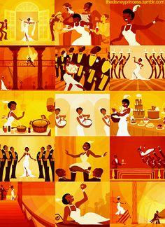 Day favorite song sang by a princess, Almost There Tiana Disney, Disney Nerd, Arte Disney, Disney Pixar, Merida Disney, Disney Princesses, Walt Disney Studios, Walt Disney Company, Disney Style
