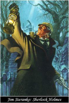 Sherlock Holmes illustration by Jim Steranko