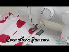 Cómo coser la cremallera de tu traje de flamenca. - YouTube