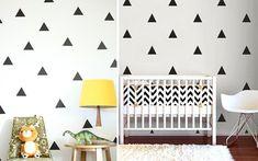 Decofilia Blog | Ideas para pintar paredes con triángulos - Decofilia.com