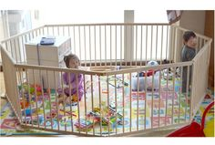Wooden Baby Playpen - 8 Panels                                                                                                                                                      More