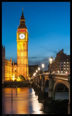Big Ben....of course (my second favorite Big Ben....the first being Roethlisberger)