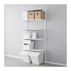 ALGOT Wall upright/shelves IKEA The parts in the ALGOT series can be combined in many different ways and easily adapted to your needs and space. Modern Shelving, Shelves, Closet System, Ikea Catalog, Clothes Storage Systems, Ikea Algot, Ikea, Ikea Us, Laundry Room Makeover
