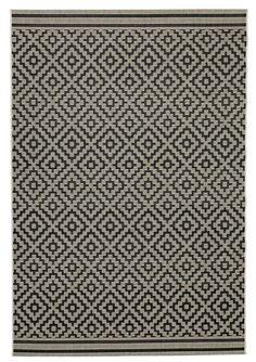 Kleed RAPS 160x230 naturel/zwart   JYSK