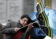 woman struggling with an umbrella - Google Search