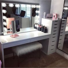 """2,207 Likes, 28 Comments - VANITY COLLECTIONS (@vanitycollections) on Instagram: """"Found my mid week beauty room muse @Pinterest. our VC Dividers - Medium size would fit amaze in…"""""""