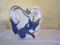 Lin Van Porcelaines Vases en porcelaine décorés à la main, dragon, fleurs, chats, oiseaux