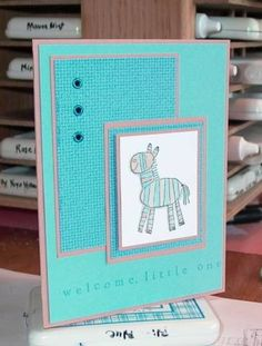Baby Zoofari by cork1035 - Cards and Paper Crafts at Splitcoaststampers