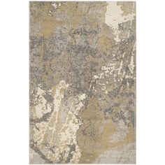 Shop for Safavieh Monaco Modern Abstract Ivory/ Grey Rug (8' x 11'). Get free…