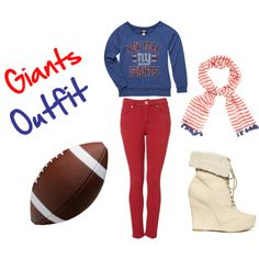 Giants football outfit switch up and changes the shoes for cowboy boots