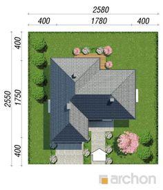 gotowy projekt Dom w różach (G2) sytuacja
