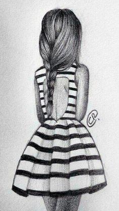 Cute B/W Girl