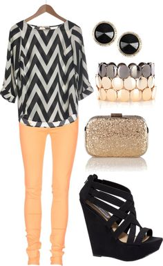 """""""Chevron"""" by likaschaaf on Polyvore"""