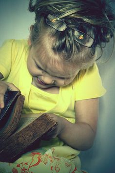 A child learns to read.  Finally! All you need is a little pixie dust