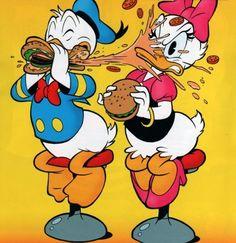 <3 Donald & Daisy <3