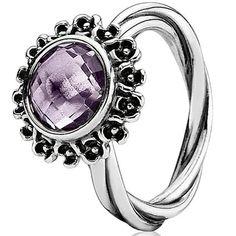 Pandora ring (190850PAM - $115.00) available at Keswick Jewelers in Arlington Heights, IL 60005 www.keswickjewelers.com