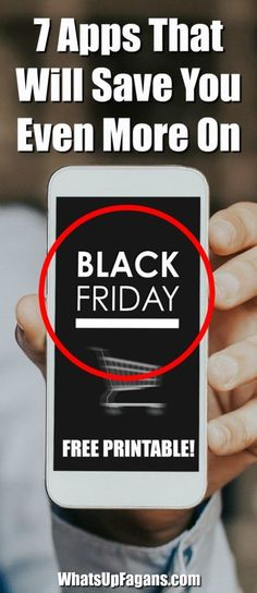 Black Friday Shopping Apps and websites to save you even more money   Cyber Monday Apps and Sites   Cash Back   Phone Apps   Coupon Apps   Holiday Shopping #Christmas #Christmasplanning #coupons #deals #savings #savingmoney #thriftytips #thrifty #frugal #