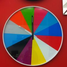 Found this on Reqoop, I am a sucker for colorful clocks.