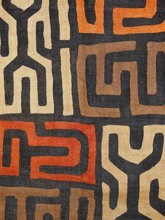 Kuba Cloth Ceremonial Skirt/Panel Raffia by EthosEthnicArt on Etsy textile art, Kuba Cloth Ceremonial Skirt/Panel Raffia Applique Textile Currency African African Textiles, African Fabric, African Prints, African Patterns, African Colors, Art Texture, Afrique Art, African Design, Tribal Art