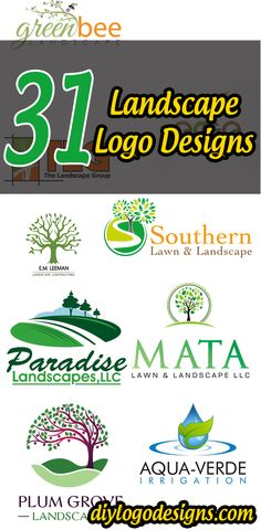 Green Works = 31 Unique Landscape Logo Design ideas 2016 UK/USA ...