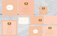Minimalistic with a grand logo, this set of personalized stationery was created for a client that wanted the stationery to reflect his big fat Indian wedding. Indian Wedding Cards, Big Fat Indian Wedding, Wedding Stationery, Wedding Invitations, Laser Cut Box, Personalized Stationary, Table Cards, Wedding Programs, Save The Date Cards