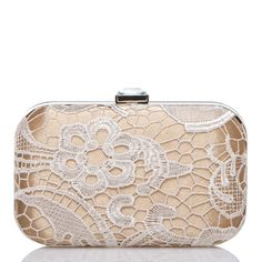 Tuscola - clutch by Shoedazzle, comes in other colors!  Love this champagne background color.