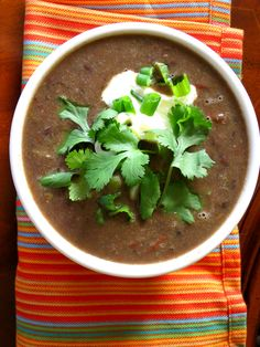 Gonna Want Seconds - Smoky Black Bean Soup