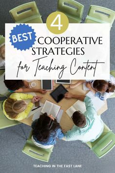 There are a ton of collaborative learning strategies out there, but the four included in this post are the best for teaching content! Each of these strategies drives home the learning process and allows students to work together towards their learning goals. Plus, they are fun! All collaborative learning strategies operate on the assumption that students want to work with their peers, talk, and have fun. With these four strategies, you can capitalize on this to have students work on content.