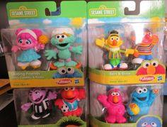 SESAME STREET - 8 FIGURE SET (Bert, Ernie, Elmo, Cookie Monster, Telly, Count, Abby, Rosita) by Hasbro, http://www.amazon.com/dp/B007QNAOY6/ref=cm_sw_r_pi_dp_4RzNrb0TW5742