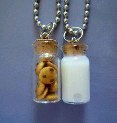 Imagem de milk, Cookies, and necklace