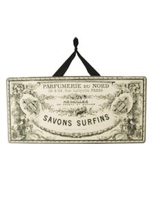 Vintage French Styled Savon sign, inspiration only. Perfume Ad, Vintage Perfume, Foam Carving, Cottage Furniture, Altered Bottles, Stylish Home Decor, Air Dry Clay, French Decor, Craft Projects