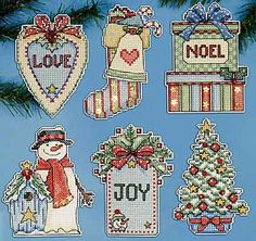 Country Christmas Cross Stitch Kit by Design Works