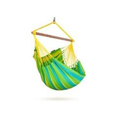 La Siesta Snc14-4 Colombian Weatherproof Hammock Chair Basic Sonrisa Lime