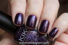 Zu maluje: kiko - 255 violet microglitter